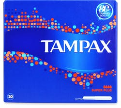 Tampax Super Plus with applicator 20s
