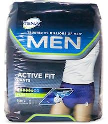 Tena Men Active Fit Plus Large 8 Pack