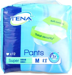 Tena Super Pants Medium 12s