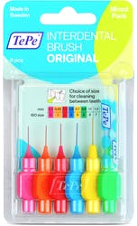 TePe Interdental Brush Mixed Pack 6s