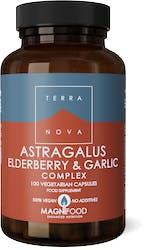 Terranova Astragalus, Elderberry & Garlic Complex 100's