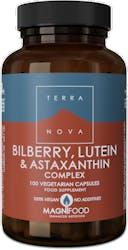 Terranova Bilberry, Lutein & Astaxanthin Complex 100s