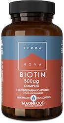 Terranova Biotin 300ug Complex 100s