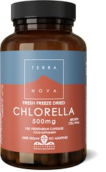 Terranova Chlorella 500mg (fresh freeze dried- organic) 100's