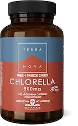 Terranova Chlorella 500mg (Fresh Freeze Dried- Organic) 100 Pack