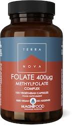 Terranova Folate (Methylfolate) 400Ug Complex 100 Pack