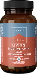 Terranova Living Mulivitamin Man 100s