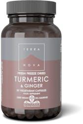 Terranova Turmeric & Ginger (Fresh Freeze Dried- Organic) 50 Pack