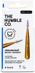 The Humble Co. Interdental Brush Blue Size 6 8s