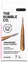 The Humble Co. Interdental Brush Pink Size 4 8s