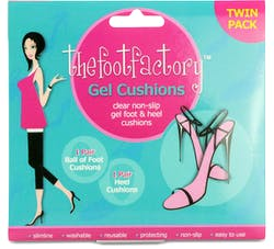 Thefootfactory Ball of Foot and Heel Gel Cushions 2 Pairs