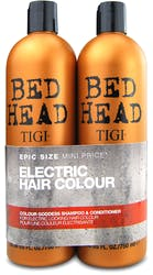 Tigi Bed Head Colour Goddess Shampoo & Conditioner Twin 2X750ml