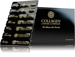 Tom Oliver Collagen Caviar Skincare Tablets 84s