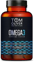 Tom Oliver Nutrition Omega 3 Herring Caviar 60s