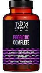 Tom Oliver Nutrition Probiotic Complete 60 Pack