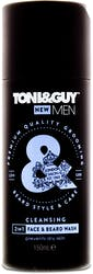 Toni & Guy 2-In-1 Cleansing Face & Beard Wash 150ml