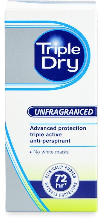 Antitranspirant triple test dry Antitranspirant Men