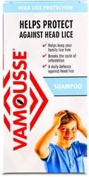 Vamousse Head Lice Protection Shampoo 200ml
