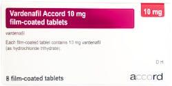 Vardenafil Accord 10mg (PGD) 8 Tablets