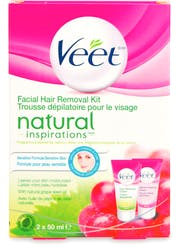 Veet Facial Hair Removal Kit 2x50ml