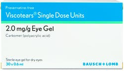 Viscotears Eye Gel Single Dose Units 30x0.6ml