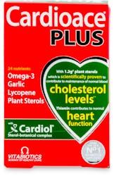Vitabiotics Cardioace Plus Capsules 60 Pack