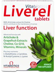 Vitabiotics Liverel 60 Tablets