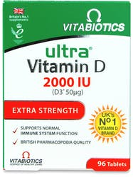 Vitabiotics Ultra Vitamin D 2000Iu Tablets 96s