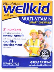 Vitabiotics Wellkid Smart Chewable 30 Tablets