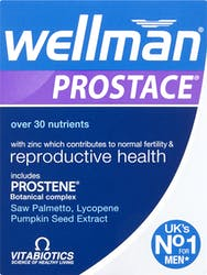 Vitabiotics Wellman Prostace 60 Tablets