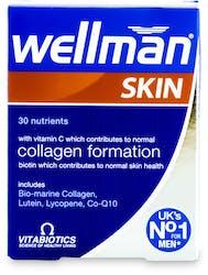 Vitabiotics Wellman Skin Technology Tablets 60 Pack