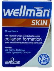 Vitabiotics Wellman Skin Technology Tablets 60s