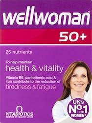 Vitabiotics Wellwoman 50+ 30 Capsules