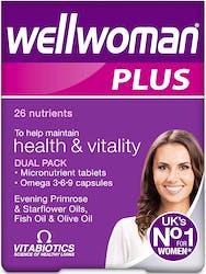 Vitabiotics Wellwoman Plus 56 Capsules