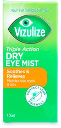 Vizulize Triple Action Dry Eye Mist 10ml