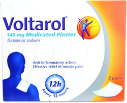 Voltarol Medicated Plaster 2 Patches