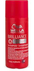 Wella Professional Shampoo Brilliance Fine/Normal Hair 50ml