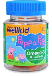 Wellkid Peppa Pig Omega-3 30 Soft Jellies