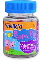 Wellkid Peppa Pig Vitamin D Formula 30 Soft Jellies