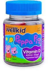 Vitabiotics Wellkid Peppa Pig Vitamin D Formula 30 Soft Jellies