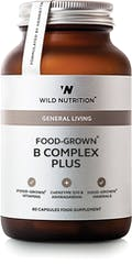Wild Nutrition Food-Grown B Complex Plus 60 caps