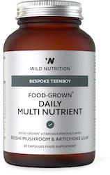 Wild Nutrition Food-Grown Daily Multi Nutrient (TeenBoy) 60 Capsules