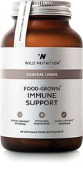 Wild Nutrition Food-Grown Immune Support 60 caps