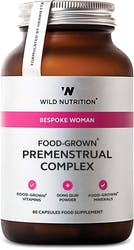 Wild Nutrition Food-Grown Premenstrual Complex 60 Capsules