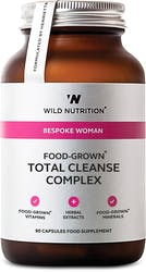 Wild Nutrition Food-Grown Total Cleanse Complex 90 Capsules