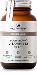 Wild Nutrition Food-Grown Vitamin B12 Plus 30 caps