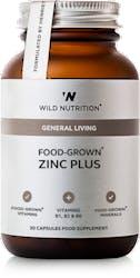 Wild Nutrition Food-Grown Zinc Plus 30 caps