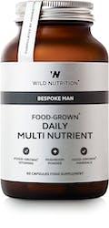 Wild Nutrition Men's Food-Grown Daily Multi Nutrient 60 Caps