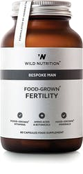 Wild Nutrition Men's Food-Grown Fertility 60 caps