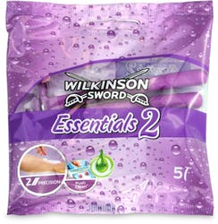 Wilkinson Sword Essentials 2 Women's Disposable Razors x5